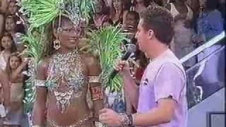 Fernanda Oliveira Rainha de Bateria da Mangueira no Musa do Carnaval 2007