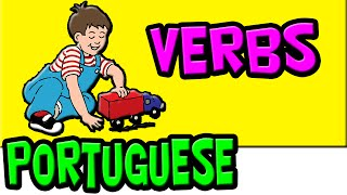 Brazilian Portuguese Verbs for Kids, Kid's Portuguese, Learn Portuguese, Os Verbos Portugues, Brazil