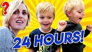Kids Control The Day For 24 Hours! Jackson and Calvin pick EVERYTHING! | Ellie And Jared width=