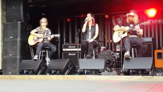 Delain - We are the others ( acoustic ) at Download 2016
