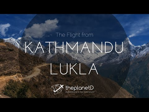 Flight to Lukla from Kathmandu, Nepal