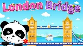 London Bridge Is Falling Down | Babybus for Kids