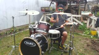 Airbourne - Runnin Wild  (Drum Cover)