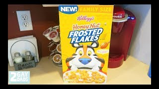 HONEY NUT FROSTED FLAKES REVIEW!