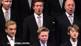 """Knabenchor Hannover """"Drum schließ ich mich in deine Hände"""" J. S. Bach (NDR Aktuell 22.12.2014)"""