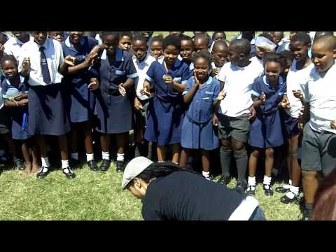 SWAT 2010 break dancing at a School in Durban South Africa