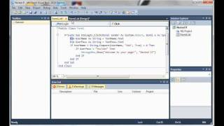 Visual Basic 2010 Tutorial 5 - Nested If Statements width=
