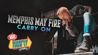 """Memphis May Fire - """"Carry On"""" LIVE! Vans Warped Tour 2017"""