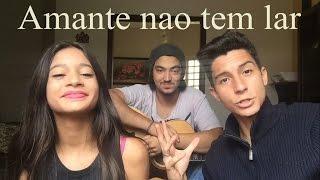 Amante Nao Tem Lar (Cover) -  Marilia Mendonça - por Vitória e Victor Hugo