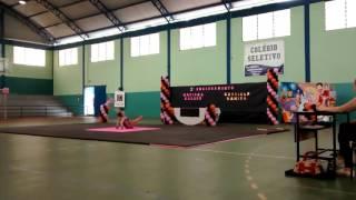 Abertura 3° Campeonato de Ginástica Acrobática, de Solo e Trampolim da Academia Mariana Casseb