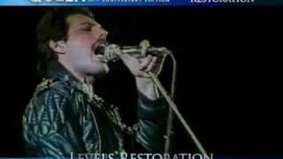 "Queen | Live in Argentina 1981 - 30th Anniv. Edition: ""The Process of Restoration"""