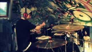 Thy Art is Murder-Reign of darkness (Drum Cover)(HD) By Robbie Dinnen