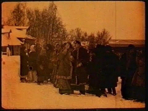 Pathé film 1915:  A Russian wedding tragedy Русская трагедия свадьбы