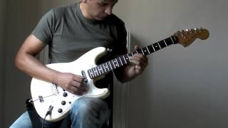 DEEP PURPLE - Wring that neck (guitar solo cover by Vangelis Vergos)