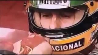 """Ayrton Senna - """"See You Again"""" em Português"""