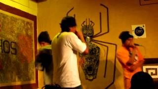 Da-Niggaz-Ink - Noche de Hardcore - ft Klex [EVENTO ATAQUE DE RIMAS LIVE]