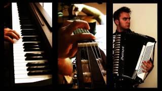 Yann Tiersen - L'autre Valse d'Amélie - piano guitar accordion glockenspiel (Vladimir Yatsina Cover)
