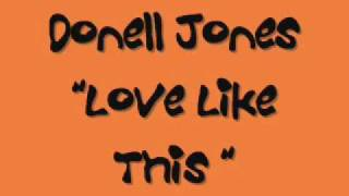 Donnel Jones Love like this