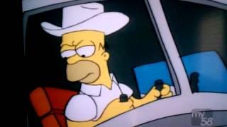 Homer rides da BOMB