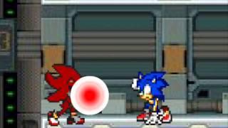 Sonic VS Hell Specter Shadow