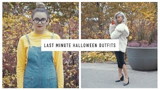 (Super) Last Minute Halloween Outfits