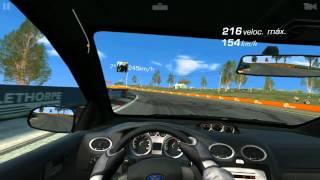 279,25 km por hora no Ford Focus (Real Racing 3)