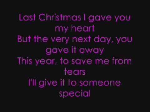 last christmas lyrics taylor swift chords chordify - Youtube Last Christmas