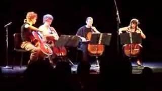 Triple Door Cello Quartets Apocalyptica Romance