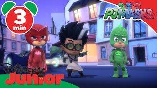 PJ Masks | Catboy VS. Robo-Cat | Disney Junior UK
