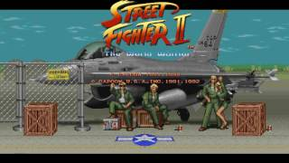[ SNES -STUDIO MIX- ]  Street Fighter 2, Guile Theme