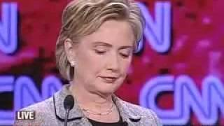 Hillary Clinton farts on national TV