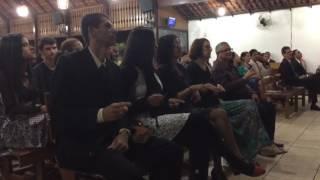 Igreja cristã Maranata surdo libras formatura louva muito alegria bom ótimo oração Deus importante
