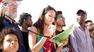 Speech of Jessica Lopes after Protest rally held in Portugal.