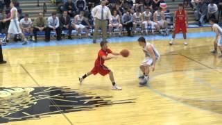 Minerva Lions at Louisville Leopards Boys Varsity Basketball Highlights 2 6 2015