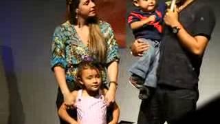 ALEX CAMPOS Y SU FAMILIA