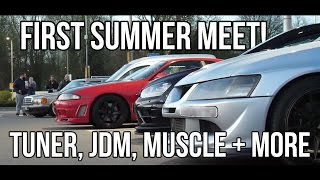 Car Culture UK Car Meet - Modded Cars and Good Times