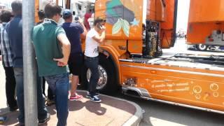 4° MEDITERRANEAN TRUCK Eboli (SA) Scania R730 La sirenetta 2 Antonella Gallo 1