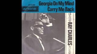 Ray Charles - Georgia on My Mind (original vinyl recording - rare)