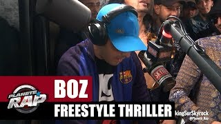 Boz - Freestyle Trealer #PlanèteRap