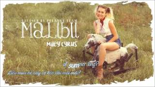 [Vietsub + Lyrics] Malibu - Miley Cyrus