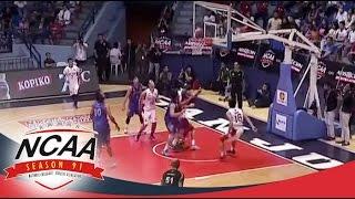 NCAA Season 91: SBC vs AU Game Highlights