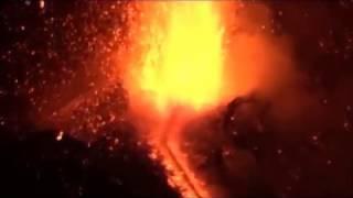 INGV: video attività eruttiva Cratere di Sud-Est, 27 febbraio 2017