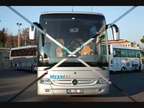 MESNEVİ TURİZM - MERCEDES TOURİSMO VİP - WC'Lİ OTOBÜS - DERİ KOLTUKLU OTOBÜS