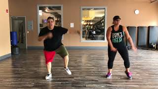 Major Lazer - Run Up ft.PARTYNEXTDOOR & Nicki Minaj | Zumba| Dance Fitness| ShakeItWithEdilson|