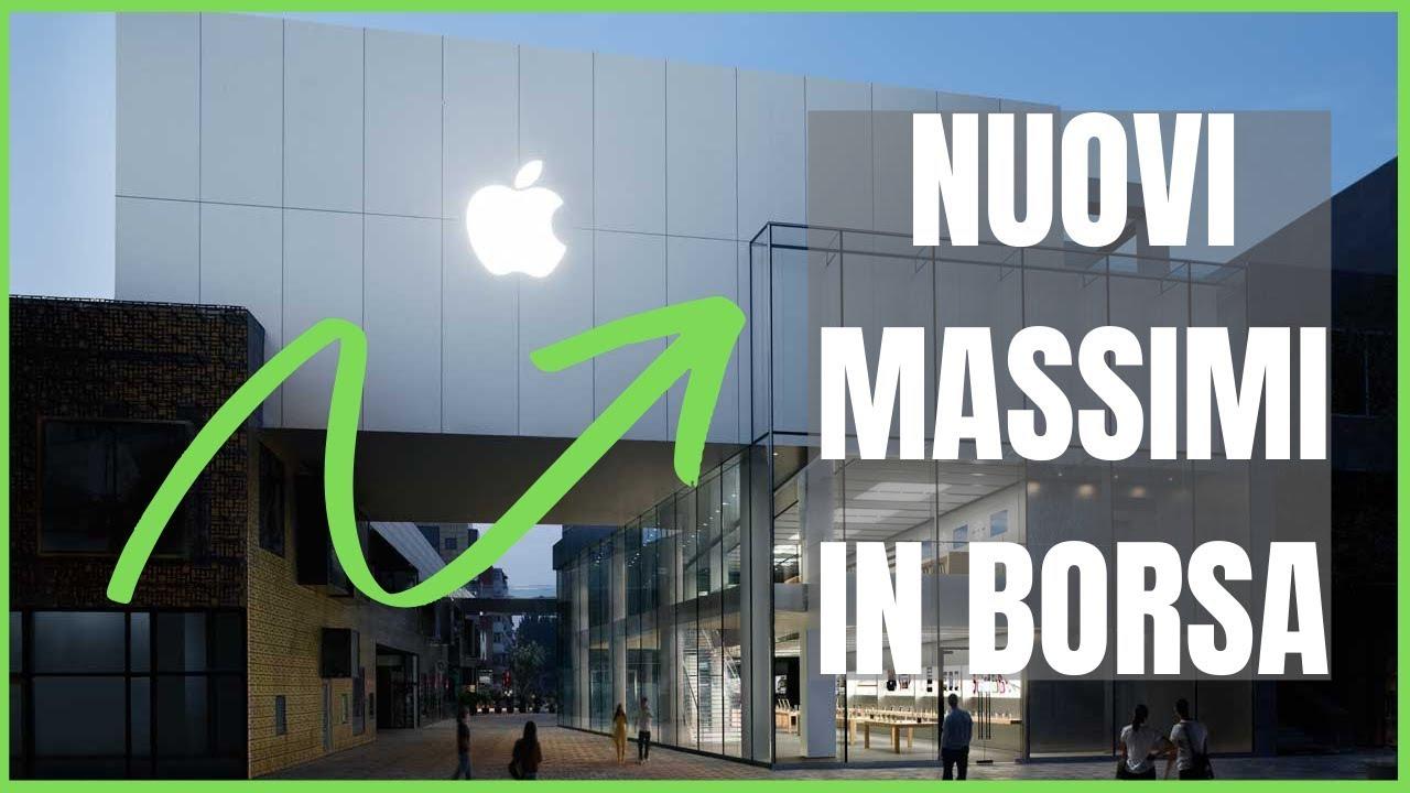 Azioni Apple sempre piu' in alto - registrazione webinar lunedi
