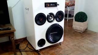 Caixa bob esponja - cd eletrovolks