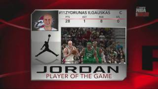 NBA 2K10 Boston Celtics vs Cleveland Cavaliers - Playoff Game 5 Player of the Game