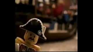 Attacking the Pirate Base - Lego Stop-Motion Animation (1997)