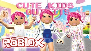 10 ROLEPLAY CHILDREN OUTFITS FOR GIRLS (WITH LINKS) | Roblox