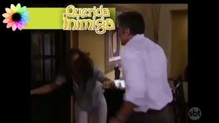 Bruno agride Diana com uns tapas